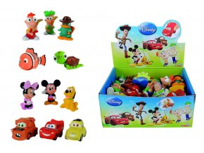 Stříkací figurky Disney, 12 druhů, DP36