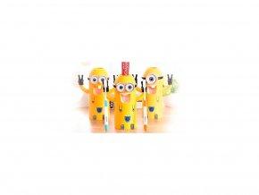 Mimoní držák na zubní kartáčky 3v1