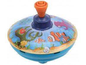 Káča hrající, mořský svět, průměr 13 cm, C