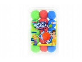 Vodní bomby 15ks průměr 5cm v plastovém boxu