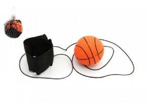 Míček vracející se gumový 6cm v síťce (1 ks)