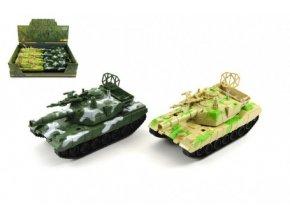 Tank plast 15cm na setrvačník asst 2 barvy (1 ks)