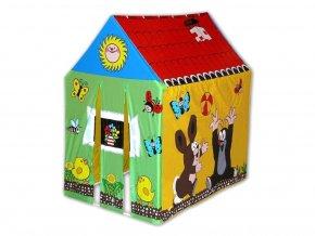 Wiky dětský stan - domeček s krtečkem