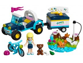 LEGO Friends Stephanie a bugina s přívěsem