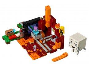 LEGO Minecraft Podzemní brána