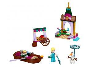 LEGO Disney Princess Elsa a dobrodružství na trhu