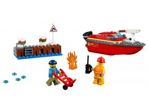 LEGO City Požár v přístavu