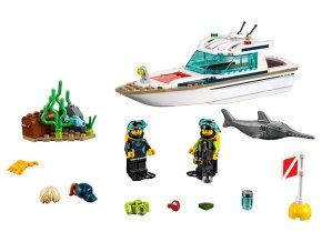 LEGO City Potápěčská jachta skladem