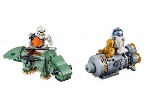 LEGO Star Wars Únikový modul vs. mikrostíhačky Dewbacků