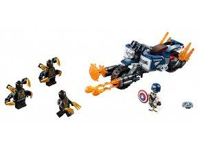 LEGO Super Heroes Captain America: útok Outriderů