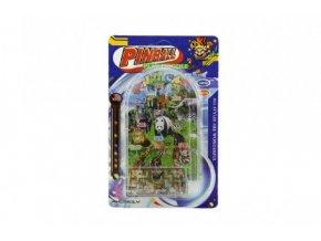 Pinball ZOO hlavolam plast 16cm asst 2 druhy na kartě