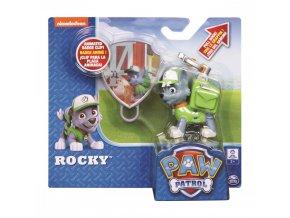 Paw Patrol postavička s navijákem Rocky