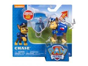 Paw Patrol postavička s navijákem Chase