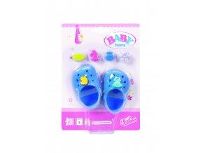 Baby Born Gumové sandálky, 6 druhů