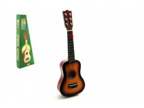 Kytara dřevo/kov 53cm v krabici