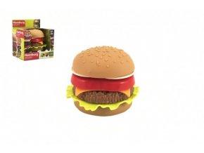 Hamburger plast skládací v krabičce 11x12x9cm