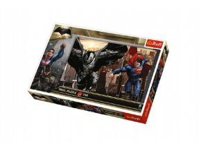 Puzzle Batman v Spiderman 41x27,5cm 160 dílků v krabici 29x19x4cm