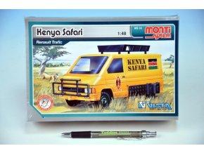 Stavebnice Monti System MS 04 Kenya Safari Renault Trafic 1:48 v krabici 22x15x6cm