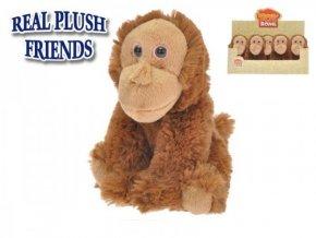 Orangutan plyšový 16cm sedící (1 ks) 0m+