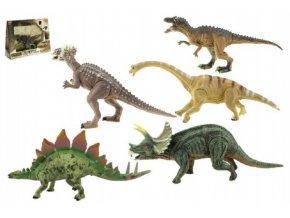 Dinosaurus hýbající se plast 16cm asst 6 druhů v krabici 24x18x7cm