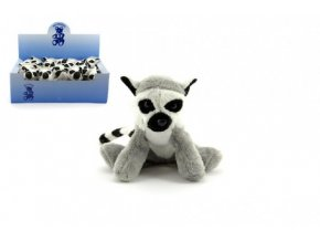 Lemur plyš 12cm (1 ks)