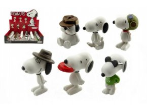 Snoopy figurka plast 5cm 6 druhů (1 ks)