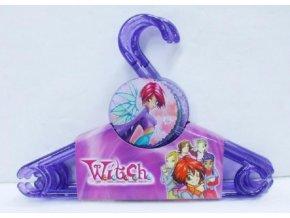 Sada ramínko Witch 4ks plast 30x23cm