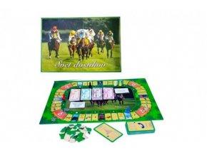 Svet dostihov verze SK společenská hra v krabici 42x29,5x6cm