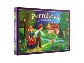 Perníková chaloupka 2 společenské hry v krabici 34x25x4cm SK verze