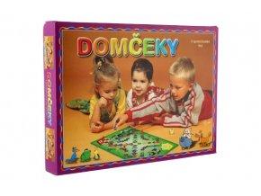 Domečky 2 společenské hry v krabici 34x25x4cm SK verze