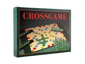 Crossgame 2 společenské hry v krabici 34x25x4cm SK verze