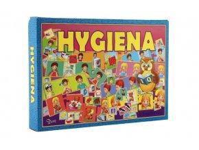 Hygiena 4 logické hry společenská hra v krabici 29x20x4cm