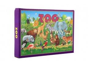 Zoo 4 logické hry společenská hra v krabici 29x20x4cm