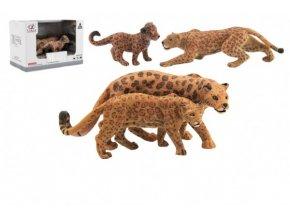 Zvířátka safari ZOO 12cm jaguar