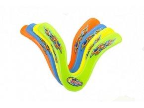 Bumerang plast 25cm asst 4 barvy