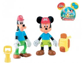 mickey mouse a goofy figurky badatelů kloubové