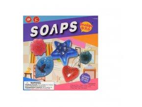 Sada na výrobu mýdla 250gr s příslušenstvím v krabičce