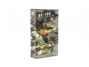 Letadlo model skládací bez lepidla 4D plast mix druhů v krabici 13x22x4,5cm (1 ks)