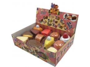 Wild Cakes zvírátko plyšové 13cm vonící 12druhu v krabicce 2
