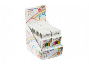 Pastelky krátké 6ks v krabičce 4,5x11cm (1 ks)