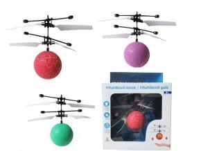 Vrtulníková koule s LED skladem