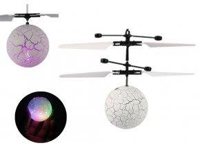 Vrtulníková koule s měnícím LED světlem