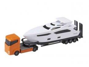 Teamsterz tahač se člunem