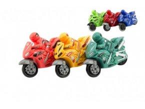 Motorka plast 10cm na setrvačník 6 barev (1 ks)