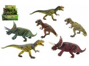 Dinosaurus plast 23-30cm mix druhů v sáčku (1 ks)
