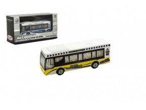 Autobus kov/plast 9cm mix barev v krabičce 13x7x4cm (1 ks)