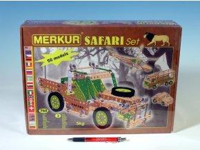 Stavebnice Merkur SAFARI Set 765ks v krabici 36x27x8cm