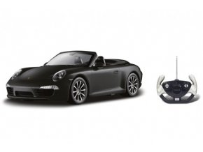 Auto RC Porsche 911 Carrera S Cabriolet plast 35cm na baterie v krabici 50x21x22,5cm