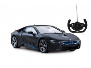 Auto RC BMW i8 plast 32cm na baterie v krabici 44x20x25,5cm