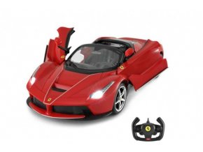 Auto RC Ferrari LaFerrari Aperta plast 34cm na baterie v krabici 44x18x25,5cm